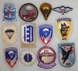 12 pcs. Misc. US Airborne Patches