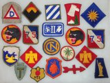 20 pcs. Misc. US  Patches