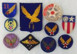 10 pcs. WWII Misc. Air Corps/AAF Patches