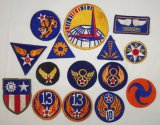 15 pcs. Misc. WW2 US Patch Grouping