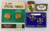 Vietnam War Period U.S. Special Forces Insignia