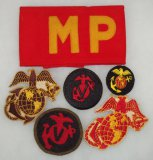 5pcs-WW2/Earlier USMC Patches/Armband