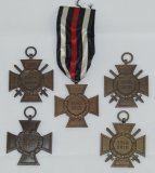 5pcs-WW1 German Honor Crosses