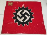 Scarce District Marked DAF Standarte/Banner