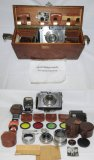 RARE! WW2 Period Plaubel Makina IIS Press Camera Attributed To Lenni Riefenstahl-Hitler's Friend