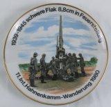 Porcelain Luftwaffe Flak Reunion Plate