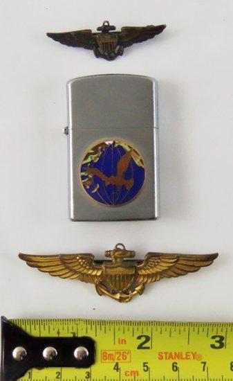 3 pcs. Vietnam War USN/VS-25 Squadron Lighter/Wings (MA43/RM)