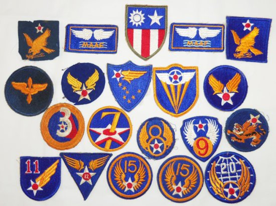20pcs-WW2 Period Army Air Corp Patches