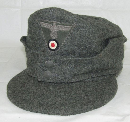 Late War German Wehrmacht M43 Cap For Enlisted