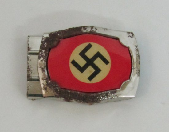 Scarce Early NSDAP Members Belt Buckle