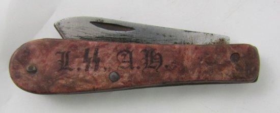 German SS Soldier's Pocket/Pen Knife-LSSAH