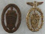 2pcs-Pre WW2 SA Rally Badges