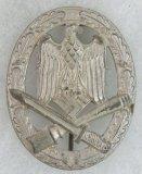 General Assault Badge Silver