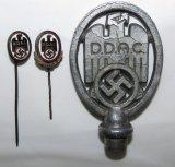 3pcs-D.D.A.C. Pennant Topper/Stickpins