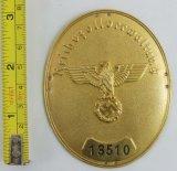 WW2 Nazi Customs Sleeve/Armband Shield-Numbered