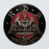 Pre-WWII Nazi RDF (Formerly RDK) Enameled Member Pin