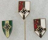 3pcs-Nazi Lapel/Stick Pins