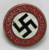 NSDAP Party Pin-Solid Enamel Variant