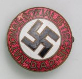 Early Pre RZM NSDAP Party Pin