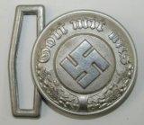 WW2 Nazi Police Officer's Belt Buckle-Assmann