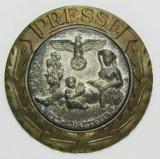 Rare WW2 NSDAP Rally Press Official's Badge