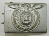 Waffen SS Buckle For Enlisted-Scarce Type I By Assmann RZM 155/40 SS
