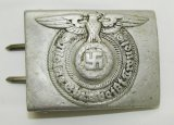 WW2 Waffen SS Combat Buckle For Enlisted-RZM 822/37 SS
