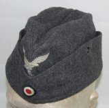 WW2 Luftwaffe Overseas Cap For Enlisted