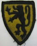 Rare Waffen SS/Wehrmacht Flemish Legion Volunteers Arm Shield-Theater Made