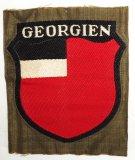 WW2 Georgien Volunteers In The Wehrmacht Arm Shield