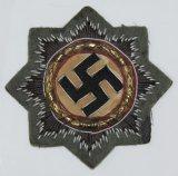 WW2 German Cross In Gold (DKIG) Cloth Version