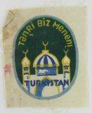 3rd Pattern Turkestani Volunteers In The Wehrmacht Arm Shield