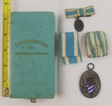 Cased WW2 Bavarian 25 Year Industrial Service Honor Medal