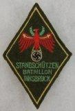 Scarce WW2 Tirol Standschutzen Batailion Innsbruck Sleeve Patch