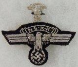 2pcs-NSKK Bullion Embroidered Officer's Sleeve eagle-Small Pin