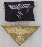 2pcs-TENO Officer's Cap Eagle-TENO Tropical? Sleeve Eagle
