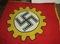 Scarce WW2 DAF Factory Honor Flag (F23)