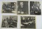 5pcs-Rare WW2 Original Press Release Photos Depicting The German High Command Surrender