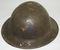WW1 British MKI US Doughboy Helmet-2nd Div/9th Inf. Rgt.-MG Co. (HG-23)