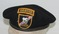 Rare Early Vietnam War 46th Special Forces Ranger Co. Black Beret (U-17a)