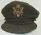 Rare WW2 WAC Cloth Officer's Service Cap (HG-57)