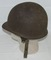 Late WW2/Early Post War US Airborne M1-C Steel Shell W/Jump Liner-Named(HG-3)
