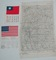 3 pcs. WW2 Army Air Forces Cloth Map/Blood Chits-CBI Theater (RM)