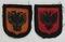 2 pcs. Waffen SS Foreign Volunteer Arm Shields-Albania