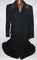 WW2 German Railway (Reichsbahn) Heavy Wool Overcoat With NCO Collar Tabs