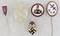 5pcs-Misc WW2 German Pins/Stickpins
