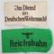 2pcs-Wehrmacht & Reichsbahn Armbands