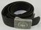 Heer Pebbled Aluminum Buckle With Tab & Belt-Desirable Maker-Klein & Quenzer
