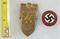 2pcs-1933 NSDAP Gautag-NSDAP Party Pin
