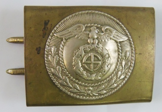 Early SA Belt Buckle For Lower Ranks